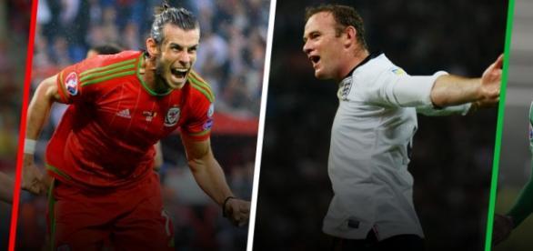 Bale y Rooney, piezas clave en sus selecciones
