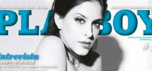 Celeste Muriega en Playboy argentina