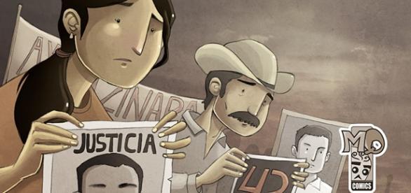 El comic de Mora profundiza en el caso Ayotzinapa