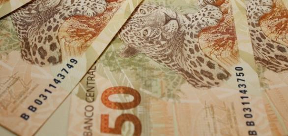 Imagem das cédulas de r$ 50,00