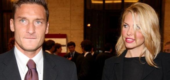 La coppia vip Ilary Blasi e Francesco Totti