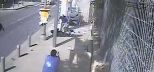 Nagranie z ataku terrorystycznego w Jerozolimie