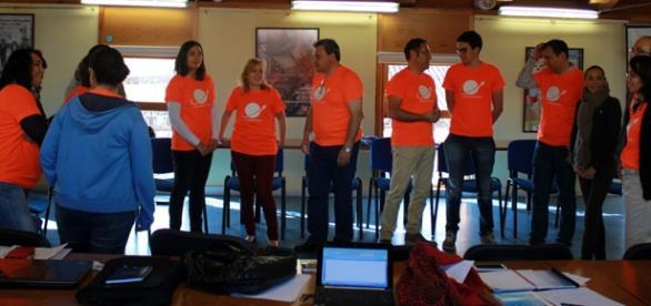 Participantes de la Lanzadera de Aranda de Duero