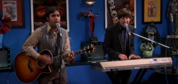 The Big Bang Theory 9x04, Raj e Howard
