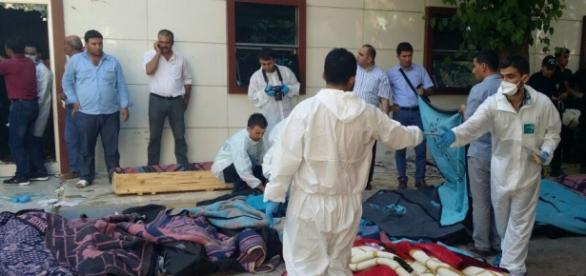 Víctimas de los atentados de Suruc