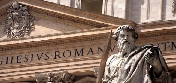 Detalle del Vaticano con San Pedro. Flickr