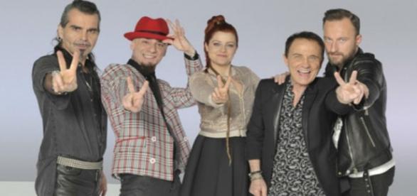 I quattro giudici di The Voice 2015