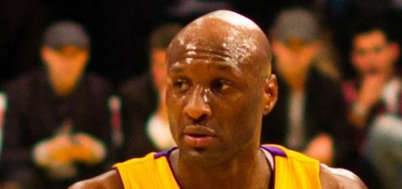 Lamar Odom en su etapa en los Lakers