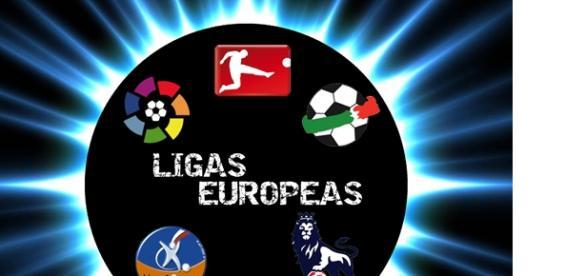 Las grandes ligas europeas: partidos