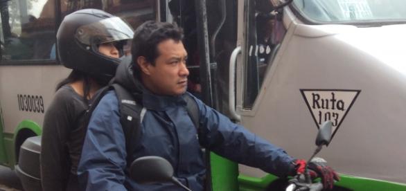 Pocos motociclistas cuidan su seguridad