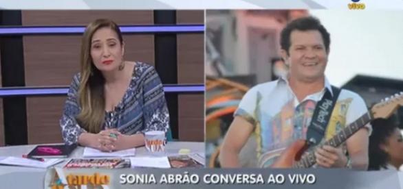 Sônia Abrão tem dia de Globo e vence a Record