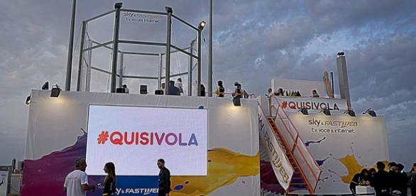 Galleria del vento Sky&Fastweb #quisivola
