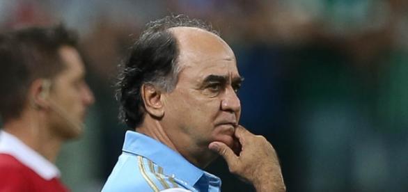 Marcelo Oliveira, atual técnico do Palmeiras