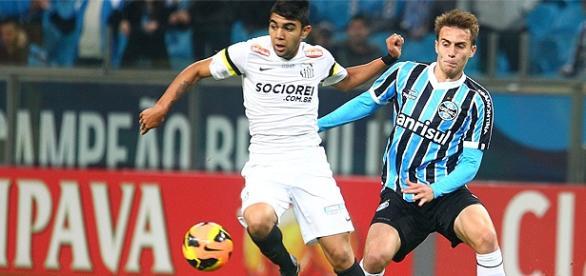 Santos encara o Grêmio em Porto Alegre