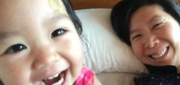 A menina de 2 anos não resistiu ao câncer.