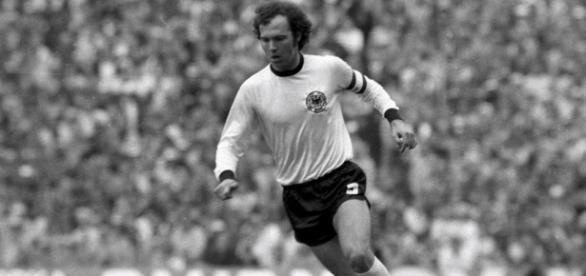 Beckenbauer, jucătorul de legendă al Germaniei