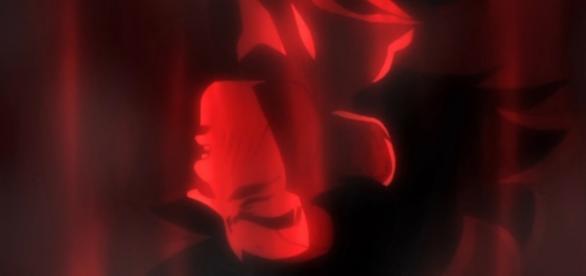 Goku luego de ser casi derrotado por Bills
