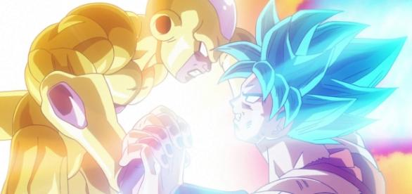 Goku contra Freezer en la ultima pelicula