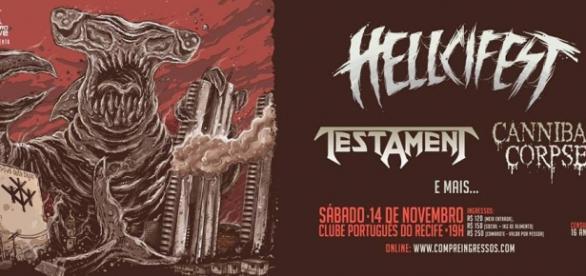 Hellcifest - Foto divulgação oficial