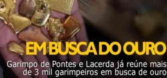 """""""Nova Serra Pelada"""" em Mato Grosso"""