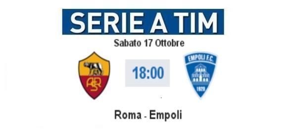 Roma - Empoli in diretta live su BlastingNews