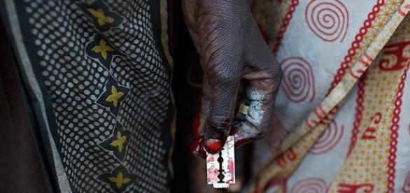 Wyrzezanie, fot.Siegfried Modola/Reuters