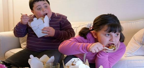 Descuido dos pais motivam obesidade
