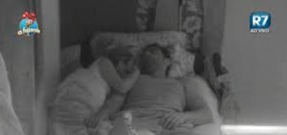 Li Martins e JP dormem juntos depois da festa