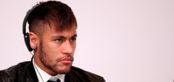 Neymar, autor de cuatro goles frente al Rayo