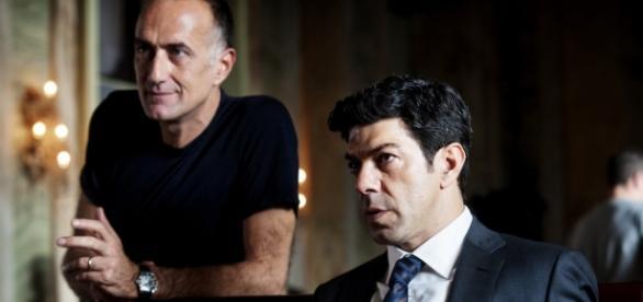 Stefano Sollima con Pierfrancesco Favino