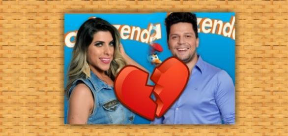 Thiago Servo e Ana Paula Minerato em A Fazenda