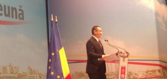 Victor Ponta şi-a prezentat raportul la Congres