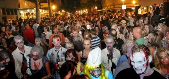 ZombiCon atrai milhares de pessoas todos os anos.
