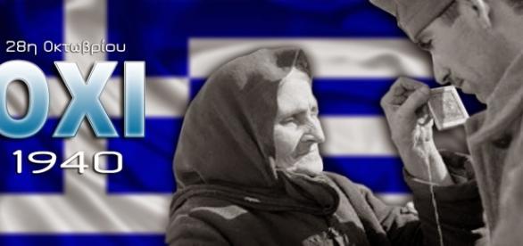 """28/10/1940, a Grécia disse """"não"""" aos facistas!"""