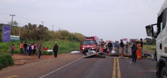 Três crianças indígenas morrem atropeladas