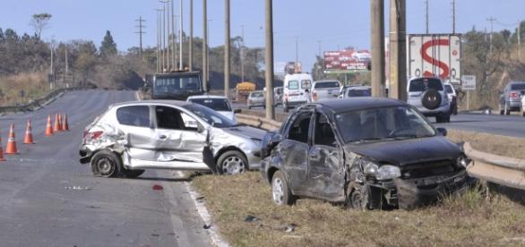 Acidentes em rodovias - foto: divulgação