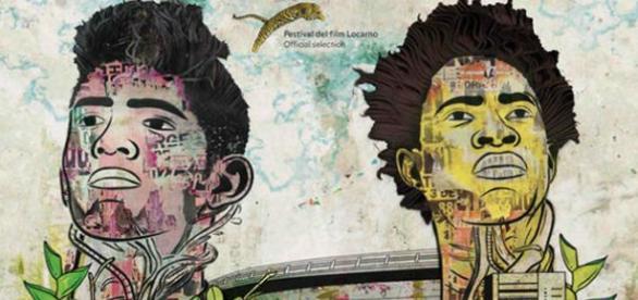 """Afiche de """"Los Hongos"""", film colombiano"""