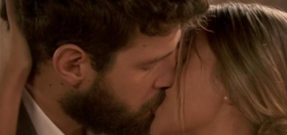 Il Segreto: Berta e Bosco, e bacio fu!