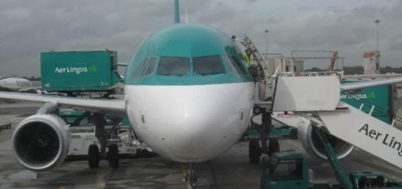 Jovem terá entrado em colapso durante o voo.