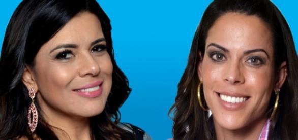 Mara Maravilha e Rebeca Gusmão