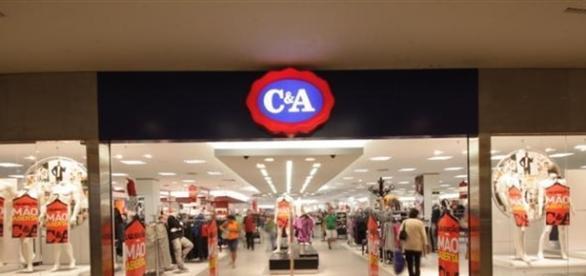 C&A está presente dentro do Barra Shopping