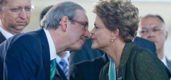 Cunha desiste de derrubar Dilma