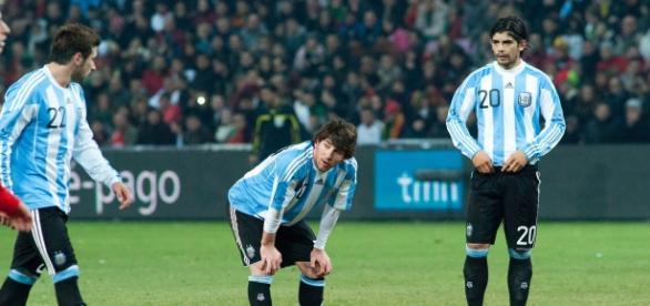 Messi, subcampeón con Argentina.