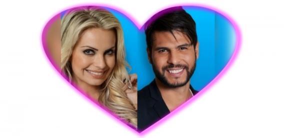 Veridiana quer formar casal com Marcelo Bimbi
