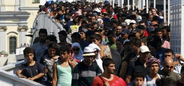 Fala muzułumańskich imigrantów zalewa Europę