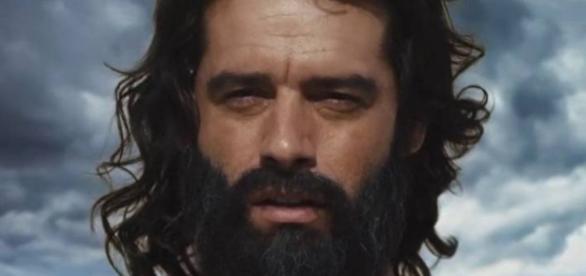 Moisés é castigado por Deus em Os Dez Mandamentos