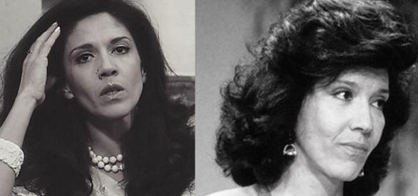 Na juventude, atriz conquistou público da Globo