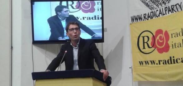 Riccardo Magi, presidente di Radicali Italiani