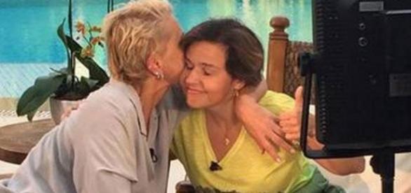 Xuxa promete não falar de tristeza