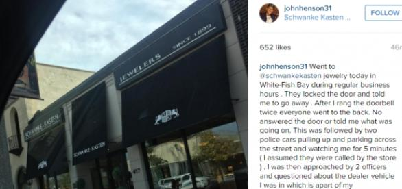 La imagen con texto subida a Instagram por Henson